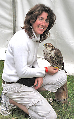 Jo Oliver,  Festival of Falconry