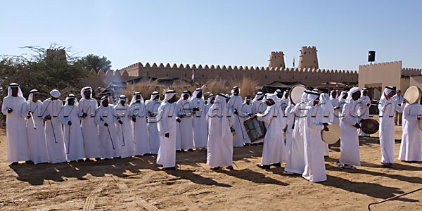 Arab music at the third Festival of Falconry