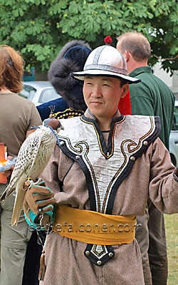 Mongolia at the  Festival of Falconry