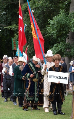 Kyrgyzstan at the  Festival of Falconry