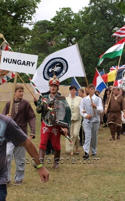 Hungary at the  Festival of Falconry
